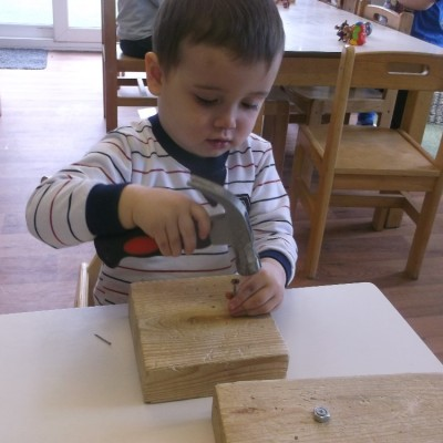 Using tools in the Squirrel room