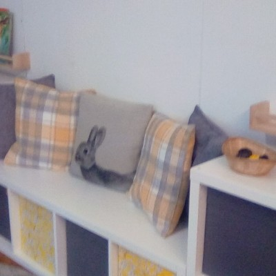 Badgers reading area